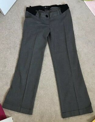 Size 8 Smart Maternity Trousers Bundle, Two Pairs
