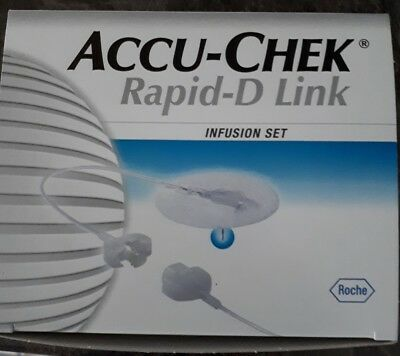 2 Accu-chek Rapid-D Link Infusion Set 8mm / 70cm