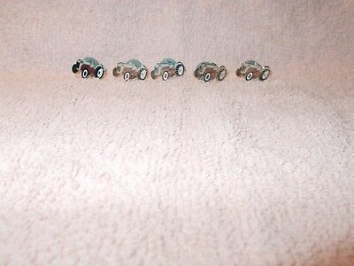 5 ford tractors lapel pins with backs