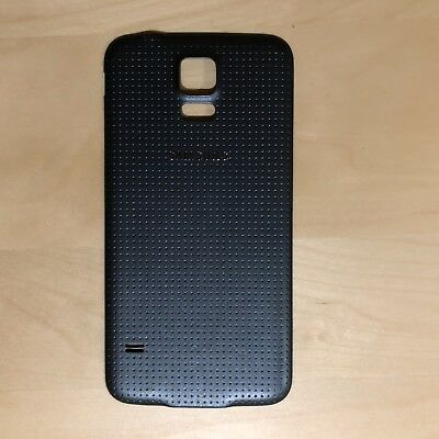 OEM Samsung Galaxy S5 Back Door Battery Cover Black