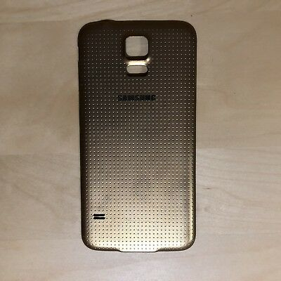 OEM Samsung Galaxy S5 Back Door Battery Cover Gold