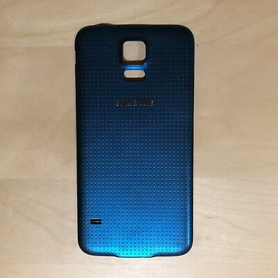 OEM Samsung Galaxy S5 Back Door Battery Cover Blue