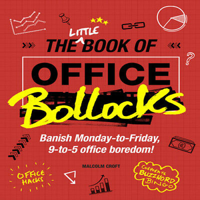 The Little Book Of Office Bollocks Stocking Filler Secret Santa Work Gift