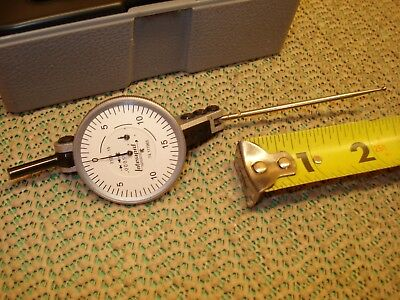 ".0005"" Interapid Dial Test Indicator With Long Tip 312B-15 Swiss Made Machinist"