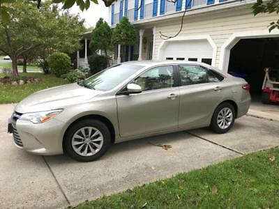 2015 Toyota Camry LE Cloth toyota camry 2015 LE 2.5 L FWD