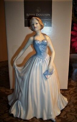 """Royal Doulton """"New Dawn"""" Figurine HN 4314 Breast Cancer Support 2001~Box~MINT"""
