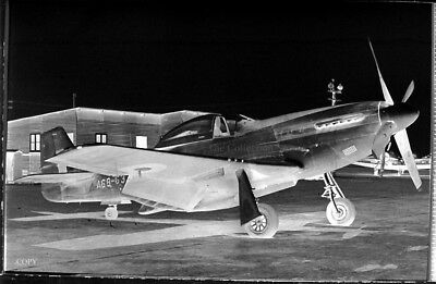 North American P-51D Mustang A68-637 35mm copy photo negative