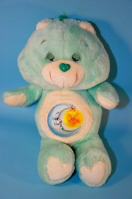 "Vintage 13"" Bedtime Care Bear Bears Plush Toy"
