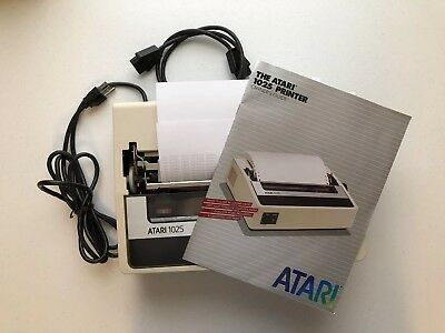 Vintage Atari 1025 Dot Matrix Printer P/N CA060412