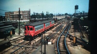 Trolley/Traction slide - CA&E Chicago, Aurora and Eastern 458
