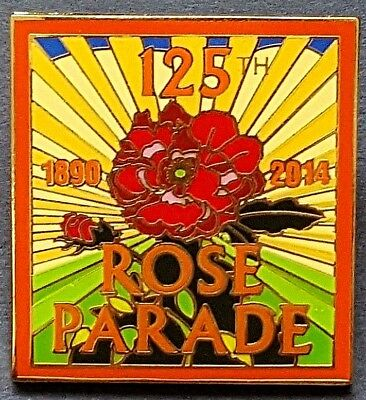 125th Rose Parade - official Tournament of Roses theme pin for members - 2014