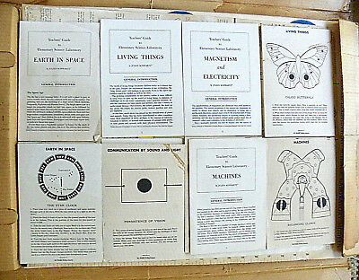 """1940's """"COCA-COLA ~ ELEMENTARY SCIENCE LABORATORY"""" SET OF SIX CATEGORIES IN BOX"""