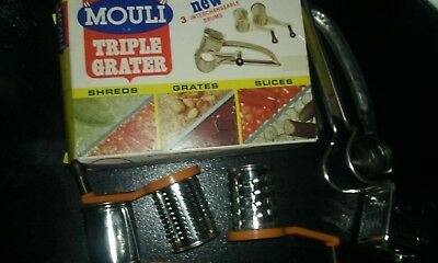 Mouli Triple Grater - Great shape - Original box