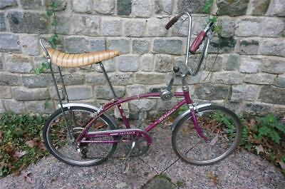 1966 Schwinn Fastback Bicycle, A Rider, Great Original Purple Paint, No Reserve