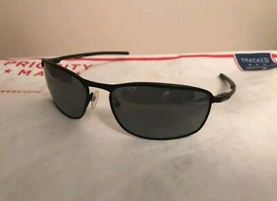 f6a1263ace4 OAKLEY CONDUCTOR 8 004107-02 60 15 Black Metal Rx Sunglasses -  79.97