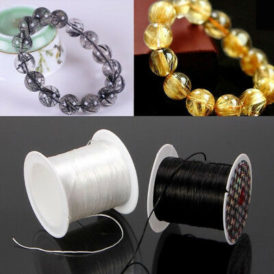 Clear Elastic Stretchy Beading Thread Cord Bracelet String For Jewelry Making