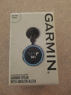 BRAND NEW Garmin - Speak with Amazon Alexa In Vehicle Service with GPS