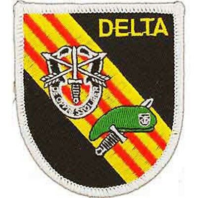 "Military Embroidered Patch - Delta Force -- Iron-On - 3"" Free Shipping"