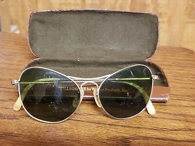 Unusual Vintage Catseye Sunglasses 1/10-12k Gold-Filled Frame