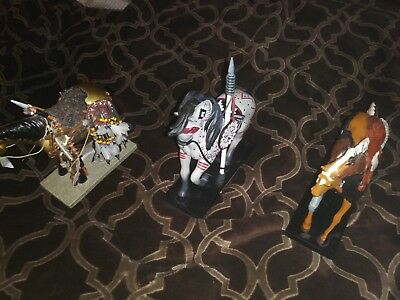 Painted Ponies 3 horse lot