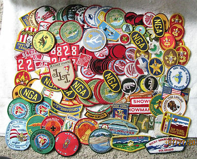 170 BSA Boy Scout America Patches Merit Badges Camporee Events Awards Indian