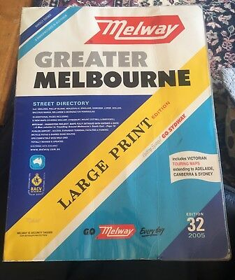 Melway Street Directory Large Print