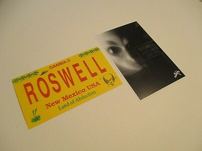 Roswell Post Card Collection Land Of Abduction City Limits