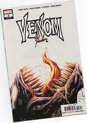VENOM 3 2018 STEGMAN 1st PRINT - In a TOP LOADER! - NM 1st APPEARANCE KNULL HOT