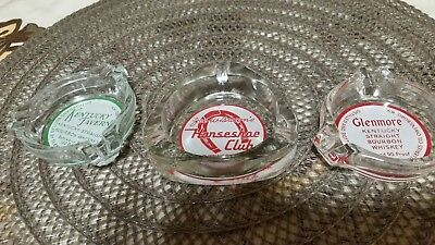 Lot of 3 Vintage Las Vegas Casino ashtrays
