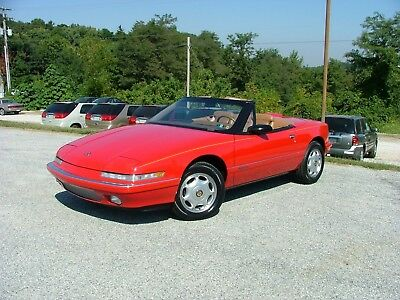 """1990 Buick Reatta Convertible 1990 Buick Reatta Convertible """"THE RIGHT ONE""""!! Only 26K"""