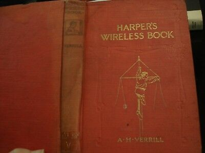 HARPER'S WIRELESS BOOK TRANSMISSION OF POWER by A.H. VERRILL>ELECTRICITY 1913