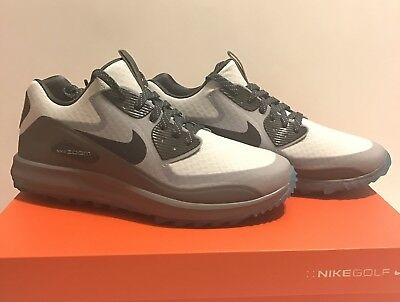 760513d8ded0 Nike Air Zoom 90 IT Golf Shoes Waterproof Grey Blue 844569-004 Mens US 10