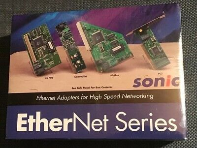 Sonic Ethernet Series Twisted Pair Ethernet Card For A Macintosh Lc Pds Nib