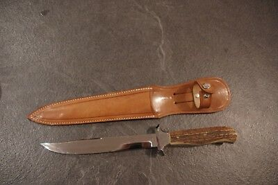 """Ancien couteau type chasse """"SOLINGEN"""". Neuf de stock. Old Knife."""