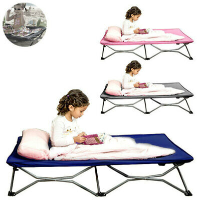 Regalo Cot Portable Foldable Toddler Kids Bed/Camping/Outdoor/Travel Stretcher