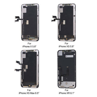 OEM LCD Screen Display Touch Screen Digitizer Replacement for iPhone X/XR/XS Max