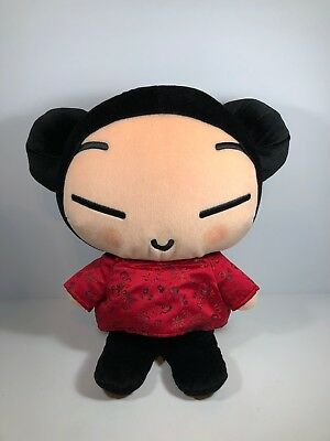 "Pucca Jumbo Korean Animation Plush Soft Toy Doll by SonoKong 15"" Tall"