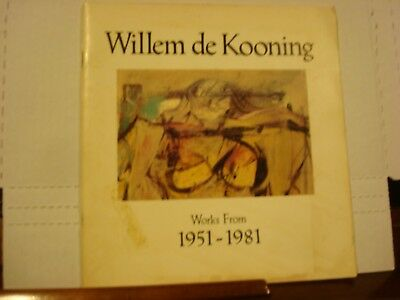 Willem De Kooning Works From 1951-1981 Guild Hall 50Th Anniversary 1981