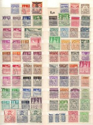 10442- Germany, Deutschland, occupations, collection of stamps. All different.