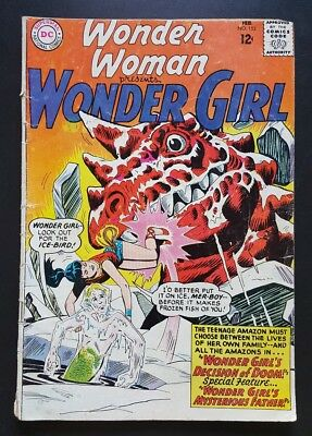 Wonder Woman #152 - (Feb 1965, DC) - GD