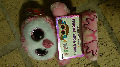 96ca57c0da8 Ty Peek-A-Boo Collection Milly - Cell Phone Holder with Screen Cleaner  Bottom