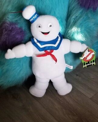 """Stay Puft Plush  toy factory 13"""" inch stuffed toy ghost busters  NEW"""
