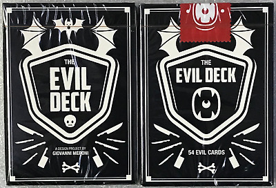 The Evil Deck Playing Cards~Free Shipping