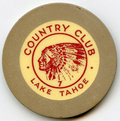 Country Club Casino - Lake Tahoe - Roulette Chip - 1935