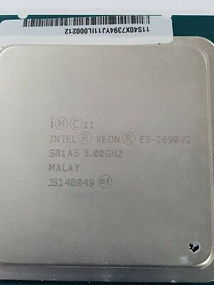 Intel Xeon E5-2690 V2 3.0GHz Turbo 3.6Ghz 8GT/s 10 Core 25MB SR1A5 CPU Processor