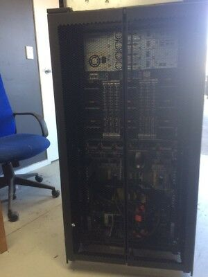 Apc Rack 42U  With Front,Back Doors, Both Sides, No Keys, Good Condition