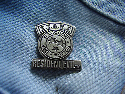 Pin Resident Evil S.T.A.R.S. Raccoon Police Dep PC Spiel Sony Playstation