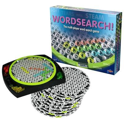 Wordsearch Family Board Game Puzzle Fun Play Kids Word Games Christmas Gift New