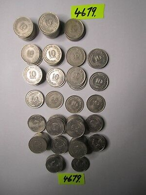 147 x  coins from SINGAPORE      401    gms      Mar4679/1