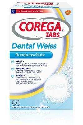 Corega Tabs Dental weiß Tabletten 66St PZN: 9753037